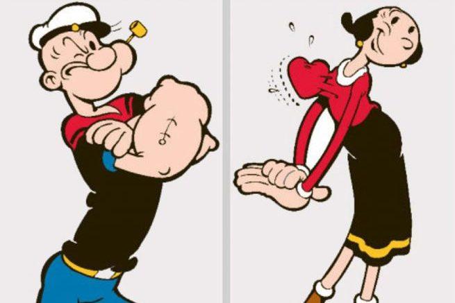 Popeye und Olivia