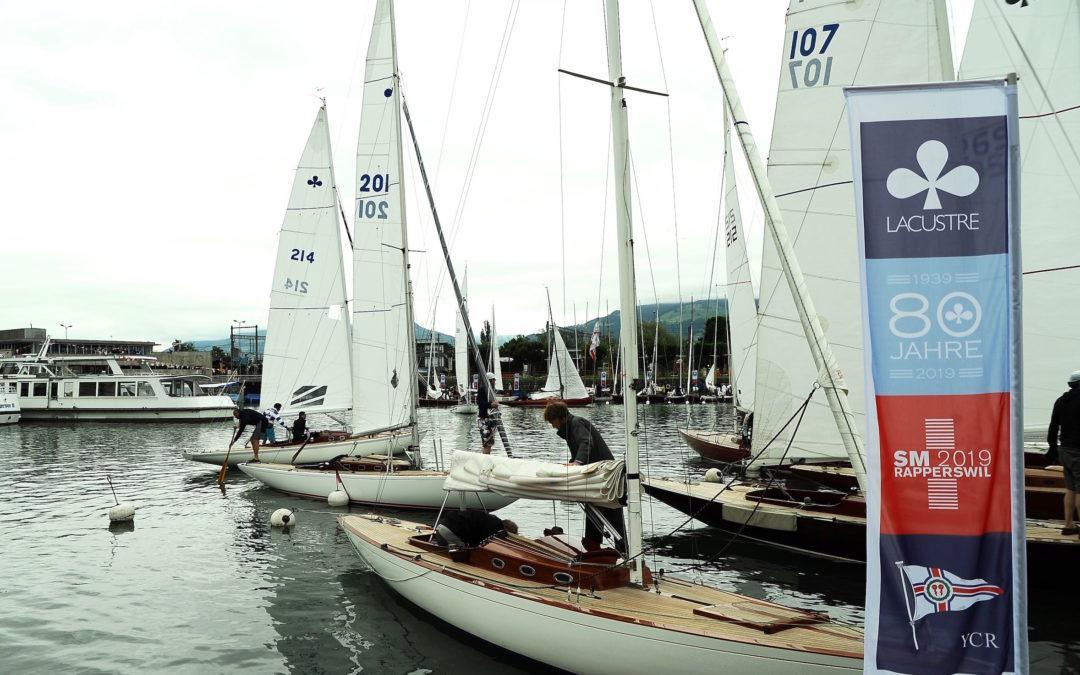 1. Wettkampftag Schweizer Meisterschaft der Lacustre Klasse 2019